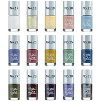 Tony Moly - Tonynail Gel Light 8ml No. 17 - White Enamel