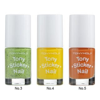 Tony Moly - Tony Sticker Nail 8ml No. 3 - Kiwi Juice