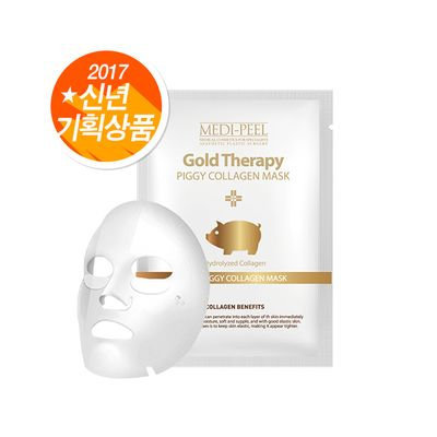 MEDI-PEEL - Gold Therapy Piggy Collagen Mask 1pc 23ml