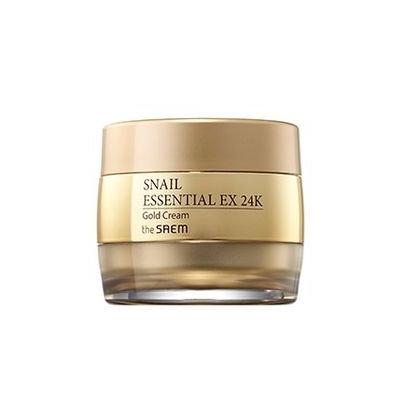 The Saem - Snail Essential 24K Gold Cream 50ml 50ml
