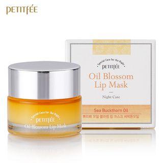 PETITFEE - Oil Blossom Lip Mask (Sea Buckthorn Oil) 15g 15g
