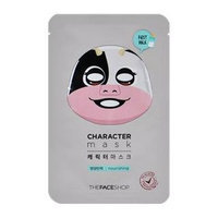 The Face Shop - Character Mask - Cow (Nourishing) 1pc (23ml)