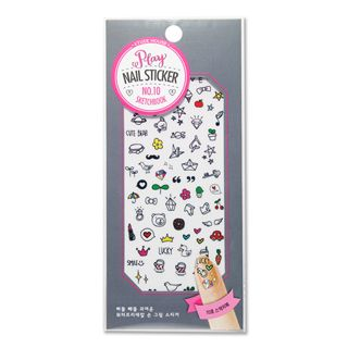 ETUDE HOUSE Play Nail Sticker Sketchbook #10