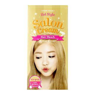 Etude House - Hot Style Salon Cream Hair Bleach Hair Coloring 25g + Oxidizer 75ml