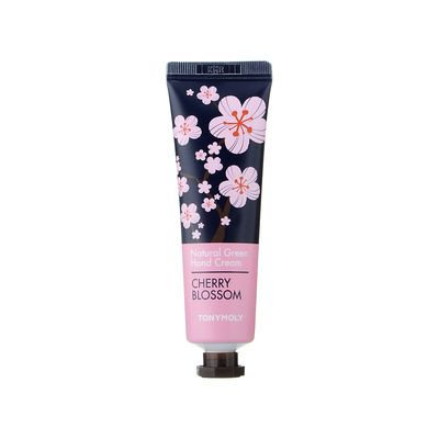 Tony Moly - Natural Green Flower Hand Cream 30ml Rose