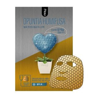 No:hj no: hj - Opuntia Humifusa Gold Foil Mask Pack Vigor 1pc 28g