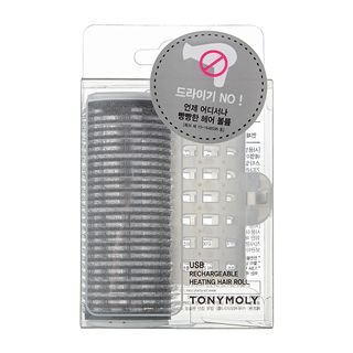 Tony Moly - USB Rechargeable Heating Hair Roll 1pc 1pc