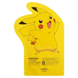 Tony Moly - Pokemon Sticker Mask Sheet 1pc 23g