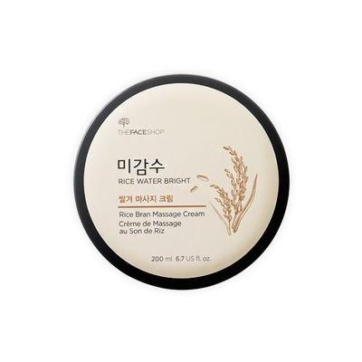 The Face Shop - Rice Water Bright Rice Bran Massage Cream 200ml 200ml
