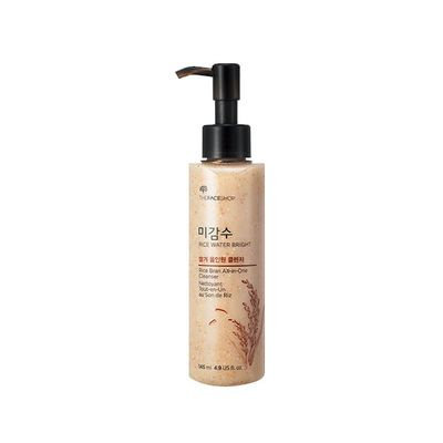 The Face Shop - Rice Water Bright Rice Bran All In One Cleanser 145ml 145ml