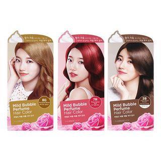 The Face Shop - Mild Bubble Perfume Hair Color (#7A Cinnamon Brown) 90ml 90ml