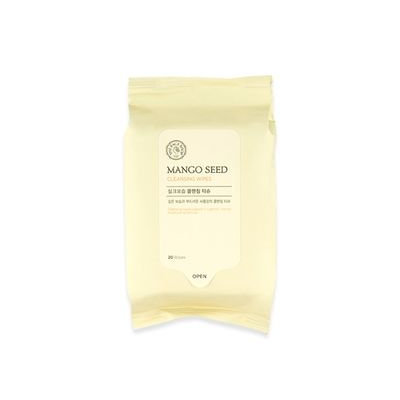 The Face Shop - Mango Seed Silk Moisturizing Cleansing Tissue 20sheets 20sheets