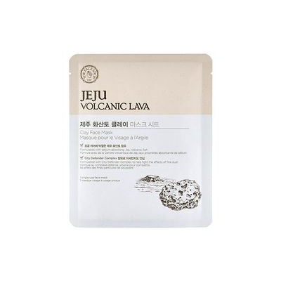 The Face Shop - Jeju Volcanic Lava Clay Face Mask 1pc 18g