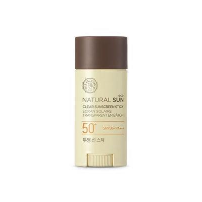 The Face Shop - Natural Sun Eco Clear Sunscreen Stick SPF50+ PA+++ 13.5g