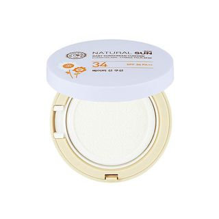 The Face Shop - Natural Sun Eco Cushion Baby Sunscreen Cushion SPF34 PA++ 15g