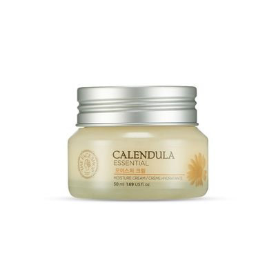 The Face Shop - Calendula Essential Moisture Cream 50ml 50ml