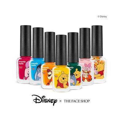 The Face Shop - Disney Pooh Trendy Nails DSN01 Poohs Honey Pot