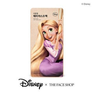 The Face Shop - Disney Rapunzel Hair Mask Pack 1pc 40ml