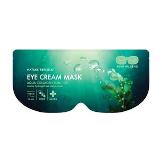 Nature Republic Aqua Collagen Solution Marine Hydrogel Eye Cream Mask