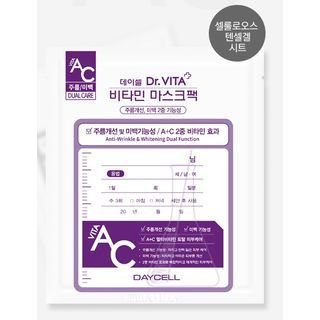 DAYCELL - Dr. VITA Vitamin Mask Pack AC 1pc 30g