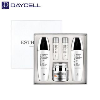 DAYCELL - Esthenique Snail Premium Skin Care Set: Skin 150ml + 30ml + Emulsion 150ml + 30ml + Cream 50ml 5pcs