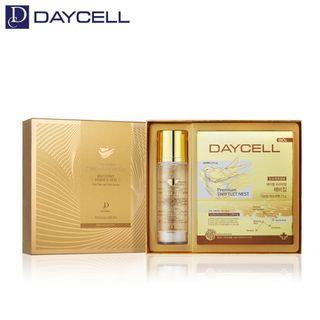 DAYCELL - Premium Gold Swiftlet Nest Essence Skin Set: Skin 150ml + Mask Pack 6pcs 7pcs