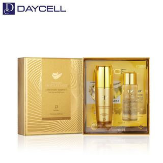 DAYCELL - Premium Gold Swiftlet Nest Recovery Essence Set: Essence 50ml + Skin 50ml + Mask Pack 2pcs 4pcs