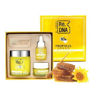 DAYCELL - Re, DNA Propolis Cream Set: Cream 100ml + 20ml + Ampoule 15ml 3pcs