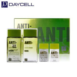 DAYCELL - Anti-Stress Mineral Homme Skin Care Set: Skin 140ml + 35ml + Emulsion 140ml + 35ml 4pcs