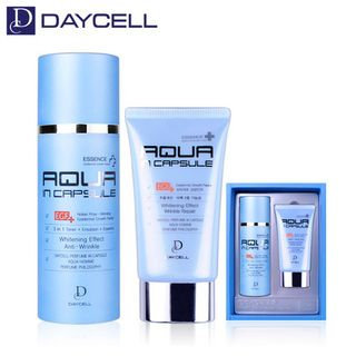 DAYCELL - Perfume In Capsule Aqua Homme Essence Set: Essence 115ml + 50ml 2pcs