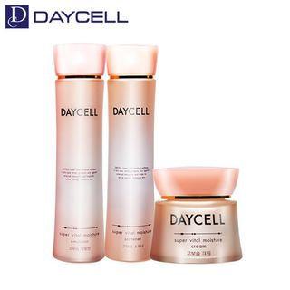 DAYCELL - Super Vital Moisture Set: Skin 150ml + Emulsion 150ml + Cream 60ml 3pcs