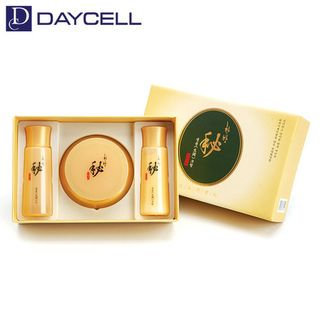 DAYCELL - Hanbang Bi Saengyoon Cream Set: Cream 50ml + Skin Toner 40ml + Emulsion 40ml 3pcs