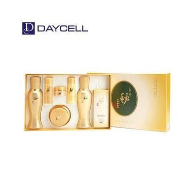 DAYCELL - Hanbang Bi Saengyoon Set: Skin Toner 150ml + 40ml + Lotion 150ml + 40ml + Cream 50ml + 10ml + Mask Pack 2pcs 8pcs