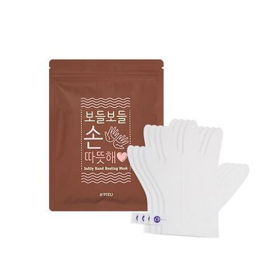 A'pieu APIEU - Softly Hand Heating Mask 4pairs 4pairs