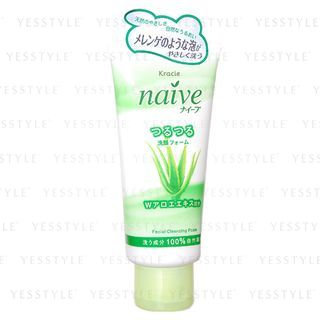 Kracie - Na ve Facial Cleansing Foam (Aloe) 120g