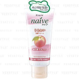 Kracie - Na ve Facial Cleansing Foam (Peach Leaf) 120g