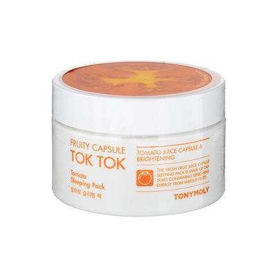 Tony Moly - Fruity Capsule Tok Tok Tomato Sleeping Pack 80ml 80ml