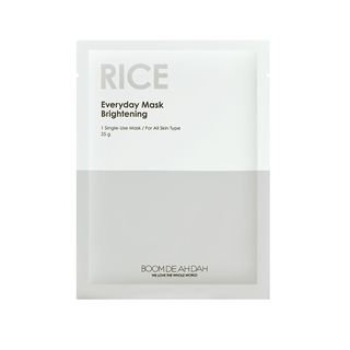 BOOM DE AH DAH - Everyday Mask Rice 1pc 25g