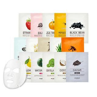 Skinfood Beauty In A Food Mask Sheet Jeju Tangerine