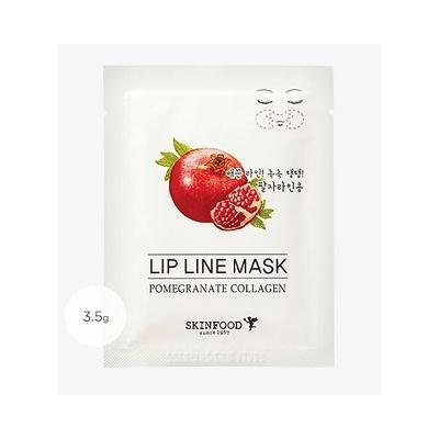 Skinfood - Pomegranate Collagen Lip Line Mask 1pair 3.5g