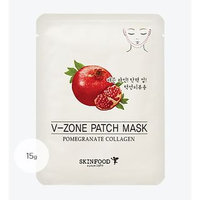 Skinfood - Pomegranate Collagen V-Zone Patch Mask 5 sheets