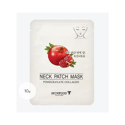 Skinfood - Pomegranate Collagen Neck Patch Mask 1pc 10g