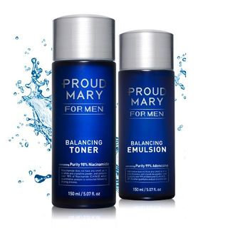 PROUD MARY - For Men Balancing Set: Toner 150ml + Emulsion 150ml 2pcs