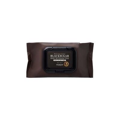 Skinfood - Black Sugar Perfect Oil Cleansing Tissues 40pcs 40pcs