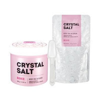 Missha - Crystal Salt Body Oil & Scrub (Rose) 500g 500g