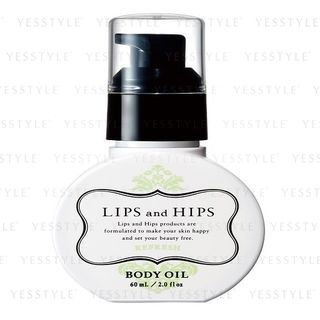 LIPS and HIPS - Body Oil (Refresh) 60ml