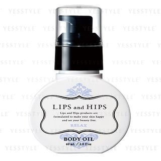 LIPS and HIPS - Body Oil (Relax) 60ml