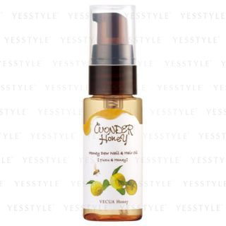 Vecua Honey - Wonder Honey Honey Dew Nail and Hair Oil (Yuzu and Honey) 20ml
