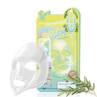 Elizavecca - Tea Tree Deep Power Ringer Mask Pack 1pc 23ml