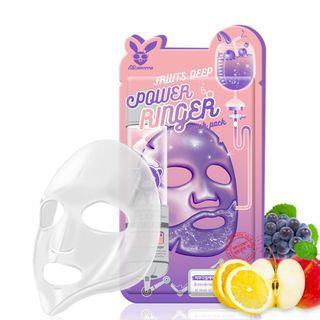 Elizavecca - Fruits Deep Power Ringer Mask Pack 1pc 23ml